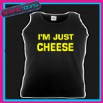 I'M IM JUST CHEESE FUNNY HOLIDAY BEACH UNISEX VEST TOP